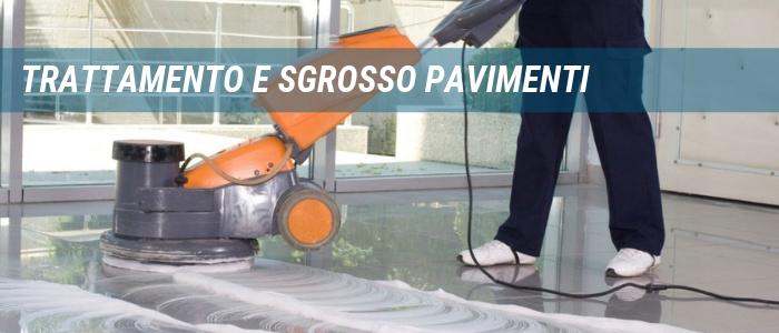 Trattamento pavimenti e sgrosso a Civitavecchia Roma Viterbo Pulizie